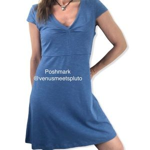 Horny Toad (Toad&Co) Rosemarie dress blue Sz M